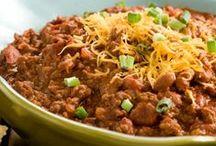 Chili & Baked Bean's * / Bean's w/ Beef, Chicken ,Turkey & Spice * / by Jennifer M