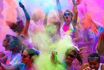 Color me rad prep / by Nasim Rizvi