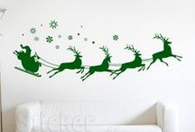 Christmas Time - Wall Decals