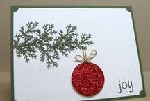 Cards Christmas Ornaments / by Joan Tallent