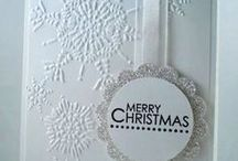 Cards Christmas Snow / by Joan Tallent