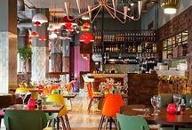 Food displays/cafe interiors