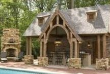 Pool House Ideas / From open air to grottos to a complete guest house, there's a pool house to fit any need or style!