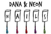 Dana and Neon Nails / Neon, neon nails, colors, neon toes, neon fingers, manicure neon, neon manicure, #nails #neon #nail polish #lacquer #manicure