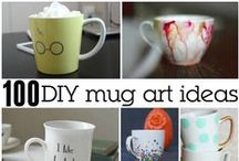 Coffee DIY & Crafts- Great Gift Ideas / Fun coffee crafts and easy DIY's. These make perfect gifts for the coffee lover in your life or a great decoration for your own kitchen!