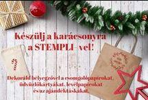 Karácsonyi bélyegzők / Christmas stamp / Dekoráld egyedien és kreatívan karácsonyi csomagolásaidat, üdvözlőkártyáidat, leveleidet és képeslapjaidat!