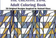 The Creative Zone by Kathy Andrew / Adult #Coloring Book