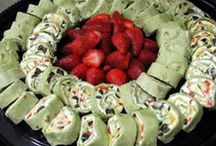 Snack , Wrap & Roll * / Wrap's & Pinwheel Sandwiches * / by Jennifer M