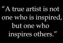 Artist Inspiration / Interviews, tips, quates and visuals for artists from all over the web