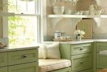 For the Home / Decorating ideas, furniture, storage and organization, lighting and accessories.  I enjoy many styles and colors, but am most attracted to a simple farmhouse style.