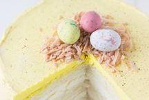 Spring / Spring desserts, crafts and Easter basket goodies.