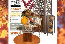 Fashions for Home and Hearth / Here but a few of the trends that are currently happening in home decor compliments of homeandhearthmagazine.com