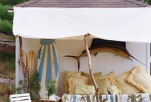 Outdoor Entertaining Inspired by the Sea / by Seaside Inspired Boutique