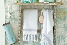 Bathrooms Inspired by the Sea / Beach, Coastal and Beach Cottage Bathroom designs and ideas.  All inspired by the sea. / by Seaside Inspired Boutique