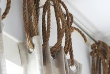 Rope Inspired / Nautical Decor. Accents and Design using Rope. / by Seaside Inspired Boutique