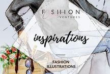 Inspirations- Fashion Illustrations / Some of the illustrations by bloggers, artists and illustrators who have done a great job and lead the way with excellent examples.