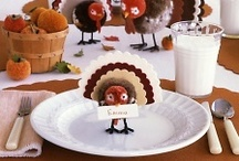 Thanksgiving  / Thanksgiving decorations, tablescapes and activities.