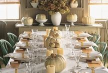 Tablescapes / Gorgeous table settings, they make any meal special!