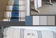 Color Inspirations / Whether looking for a new paint color or wondering what colors will look best together when re-decorating a room, we've put together color and combination inspirations. / by Seaside Inspired Boutique