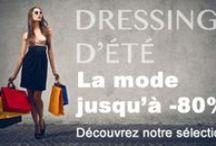 vêtements et chaussures femmes / On craque pour ces vêtements et chaussures... mode pour femmes ! En vente en ligne, vente privées et soldes