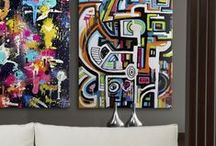 Interior | Bold & Colorful / by Great BIG Canvas