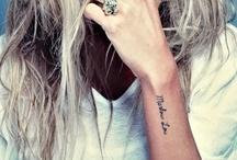Tattoos  / by Leah Worthington