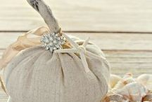 Fall Decorating and Ideas / White pumpkins and autumn accents infuse a little seasonal fun in the mix. We've also included a few fall recipes and halloween ideas. / by Seaside Inspired Boutique