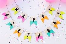 Garlands / Garlands, tassels, bunting, and streamers.
