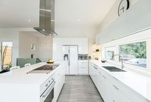 kitchen * and * dinning / by Lila Carreño