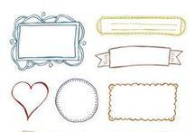 Christmas Printables / Gift tags, crafts, DIY boxes, and more for Christmas.