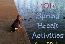 Family Fun Ideas / Kids Spring/Summer Activities