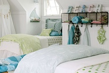 Kids Rooms / Beach and nautical style kids rooms and baby nursery / by Seaside Inspired Boutique