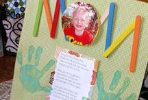 Mother's Day DIY Craft Gift Ideas / Create gifts & crafts for Mother's Day! This board has ideas & activities for kids & toddlers. Also quotes, poems & sayings.