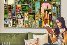 Bohemian & Eclectic Art & Decor