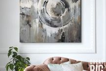 Grey Art / Greys of all shades can be found in this collection. From a light dove gray to a darker charcoal, find a piece of art to fit your space.