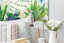 Bedroom Art & Decor / Art to makes your bedroom the perfect retreat.
