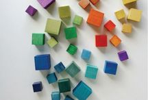 RAINBOW MAKERS / Color :: Shape :: Light //  DIY craft and hobby, party decor, party ideas, fashion
