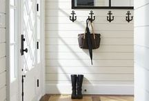 Home ~ Laundry & Entry / The entryways, mudrooms, and laundryrooms tend to get overlooked in our houses, but these are functional as well as fabulous.