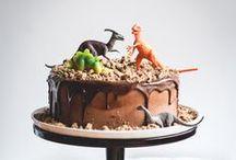 Dinosaur Party / Dinosaur cookies, cakes and parties.