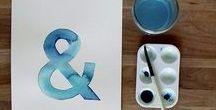 Design ~ Ampersands / And