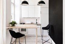 Color Crush ~ Black and White / From photography to decor, B&W is still the ultimate in sophistication. For a girl who loves color, I still have a soft spot for all things black and white.