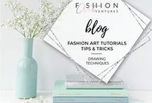Michaela's Blog | Fashion ARTventures / Blog posts on fashion illustrating, fashion design and style. Courses and free tutorials on drawing fashion.