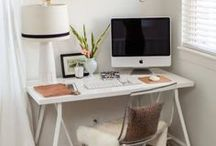 Home Office Inspiration / Making my home office more inspiring to fire up my creativity