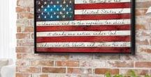 Classic Americana / Let freedom ring in this collection of patriotic, Americana art ranging from pieces honoring the Armed Forces to abstracts portraying pieces of American history.