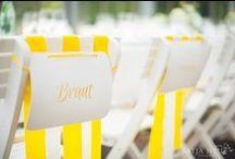 yellow wedding inspirations / by Katja Heil