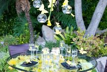 Tablescapes - Yellow