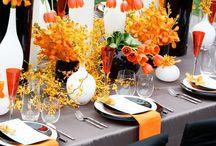 Tablescapes - Orange
