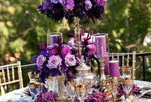 Tablescapes - Purple