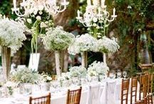 Tablescapes - White / by Sonia Sharma Events