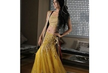 South Asian Lenghas - Yellow / by Sonia Sharma